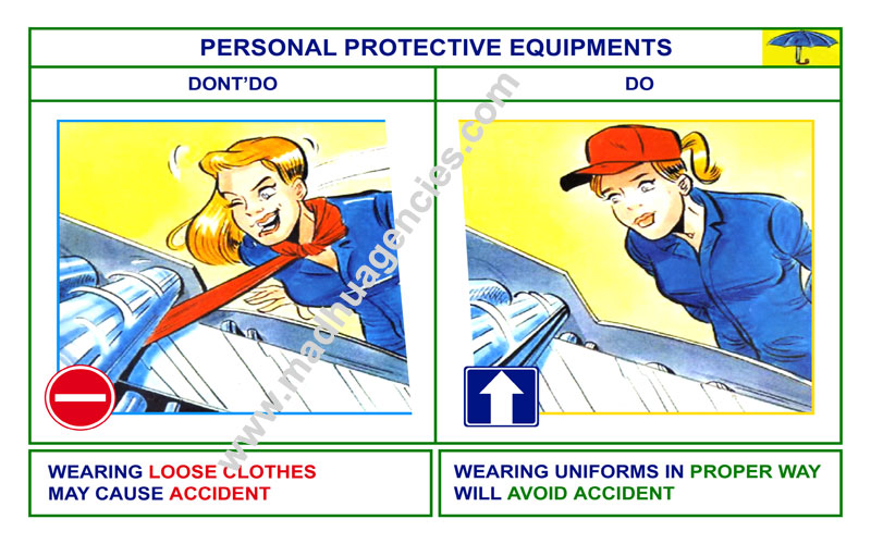 Safety Poster For Factory