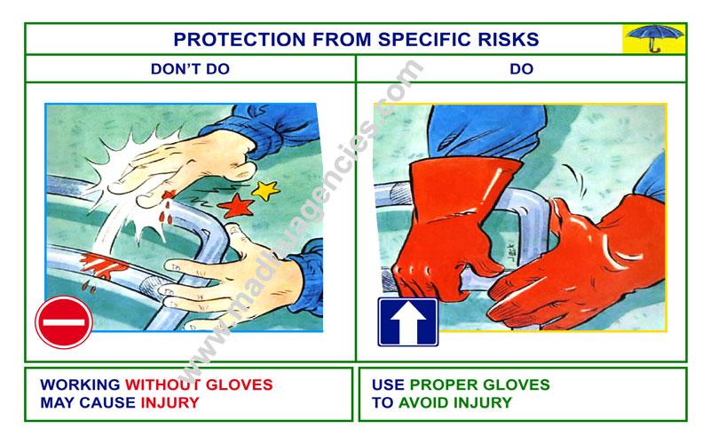 Madhu Agencies Safety Posters 5s Posters Chennai India