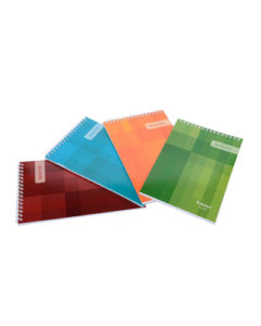 A7 TOP BOUND SPIRAL NOTEPADS (PACK OF 10)