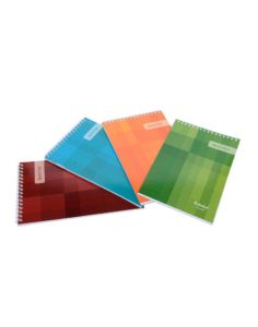 B6 TOP BOUND SPIRAL NOTEPADS (PACK OF 5)