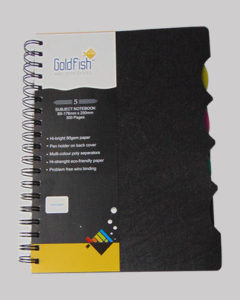 Gold Fish Note Book